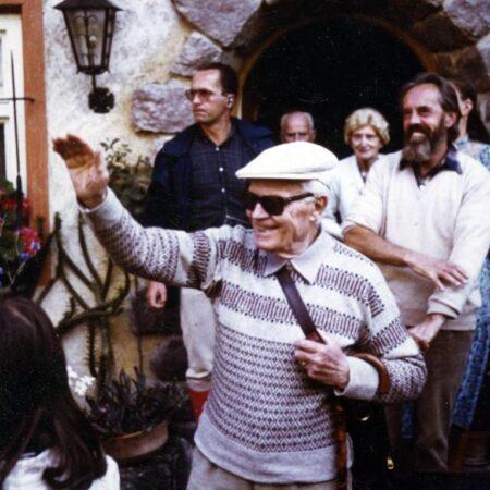 Italian President Sandro Pertini's visit to the Vallazzas, August 1981